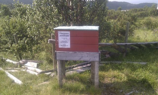 Bilde postkasse Javnstølen